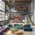 Мебель для оформления интерьеров в стиле лофт