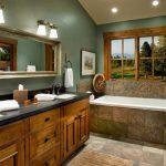 Мебель в ванную из натуральных материалов