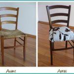 Мягкое сидение стула в новом цвете