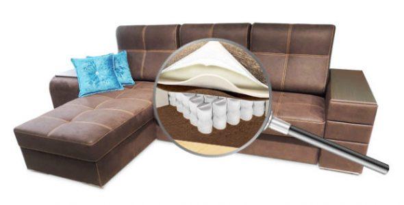Наполнение дивана для сидения