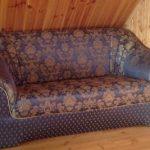 Не раскладной диван после реставрации своими руками