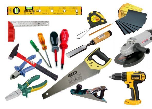 Необходимый набор инструментов для