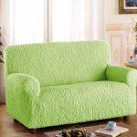 Новая мягкая обивка зеленого цвета