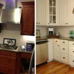 Новая жизнь старой деревянной кухни
