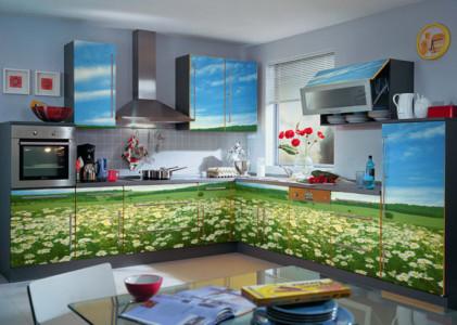 Обновленные кухонные фасады
