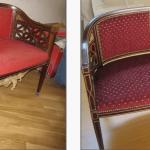 Оригинальное исполнение и обновление мягкого дивана