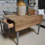 Оригинальный раскладной стол для дачи