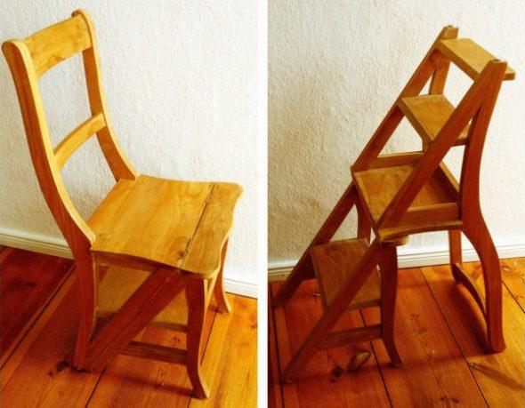 Откидной стул-трансформер