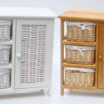 Плетеная мебель для ванной комнаты