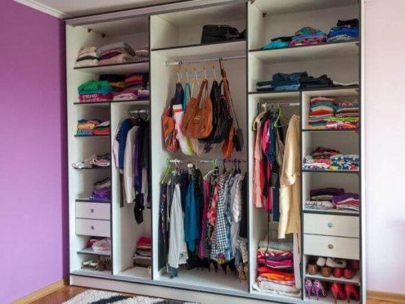 Правильная организация хранения одежды