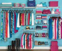 Придумываем свою систему хранения одежды