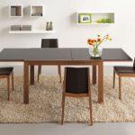 Пример раскладного стола для столовой