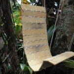 Простая модель кресла-качелей своими руками
