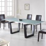 Прямоугольный стол-трансформер в стиле хай-тек