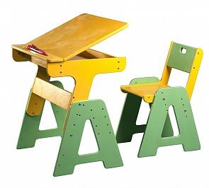 Регулируемый стол с ящиком