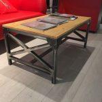 Самодельный стол в стиле лот для гостиной комнаты