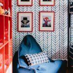 Синие кресло в комнату мальчика