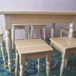 Сосновый комплект мебели для кухни
