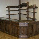 Угловой комплект мебели с тумбами и стеллажами