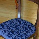 Установка новой сидушки на каркас стула