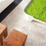 Уютный зеленый журнальный столик добавит радости и хорошего настроения
