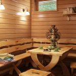 Деревянная мебель ручной работы для бани