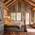 Деревянные ящики для кровати станут завершающим аккордом