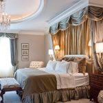 Дизайн роскошной спальни с небольшим балдахином