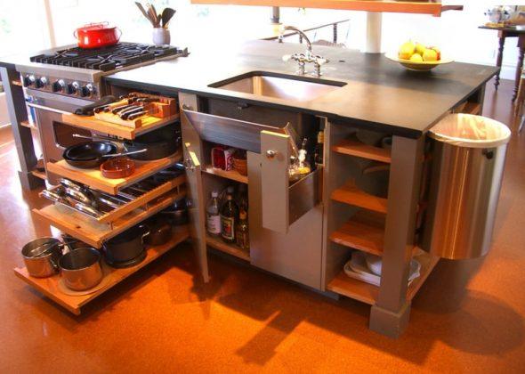 Грамотно спланированная кухонная мебель