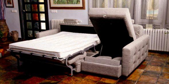 Интересная модель дивана-раскладушки