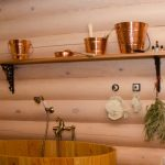 Изготовление полочки для моечной в бане