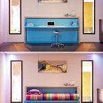 Компактная и удобная мебель-трансформер в интерьере