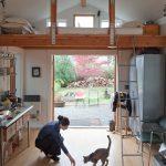 Креативный лофт в интерьере дачного домика