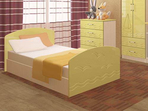 Кровать из МДФ