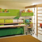 Мебель-трансформер в комнате подростков