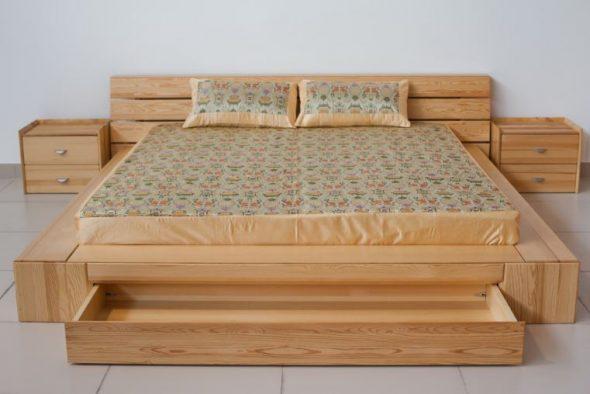 Недорогая самодельная кровать