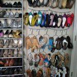 Организация пространства для хранения обуви