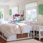 Плетеные корзины для хранения под кроватью