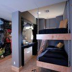 Подвесные кровати в стиле лофт