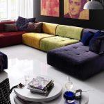 Радужный диван-трансформер