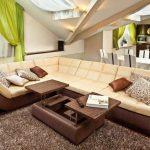 Раскладной диван и стол-трансформер
