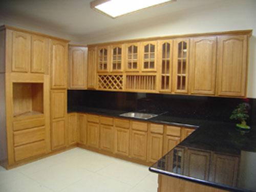Кухонная мебель из сосны