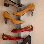 Штанга из уголков для туфель