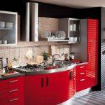 Сочный красный для кухонной мебели
