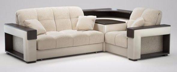 Стильный угловой диван