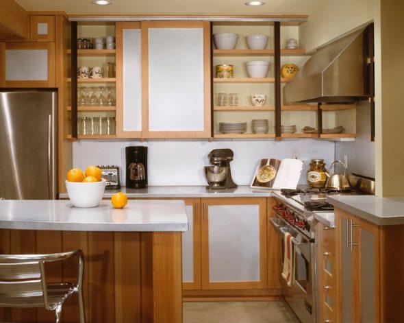 Раздвижные двери для кухонных шкафов
