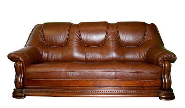 Классический кожаный диван