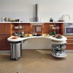 Очень необычное оформление кухонного гарнитура