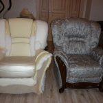 Отремонтированное кресло своими руками