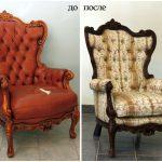 Перетяжка как способ вернуть антикварной мебели привлекательный вид